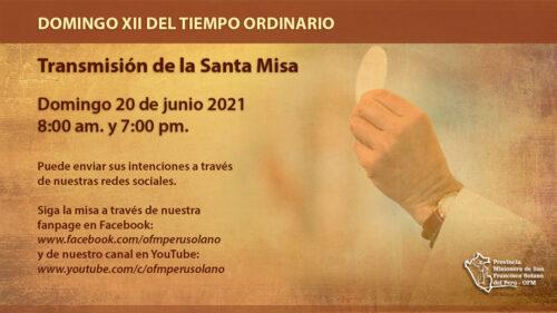 XII Domingo del Tiempo Ordinario -FELIZ DÍA PAPÁ