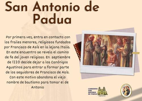 ¿Conocías estos datos sobre San Antonio de Padua?