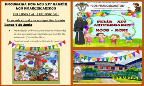 Tingo María: Aniversario de Inicial «Los Franciscanitos»