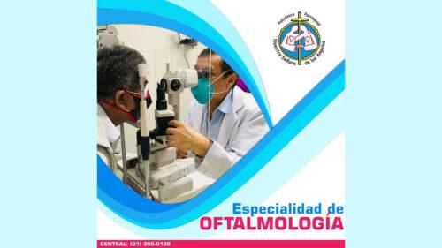 Servicio de Oftalmología: Policlínico Parroquial Nuestra Señora de los Ángeles