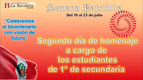 Arequipa – Homenaje a Nuestra Patria