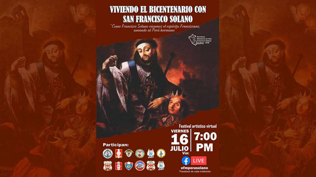 Arequipa: Homenaje a San Francisco Solano