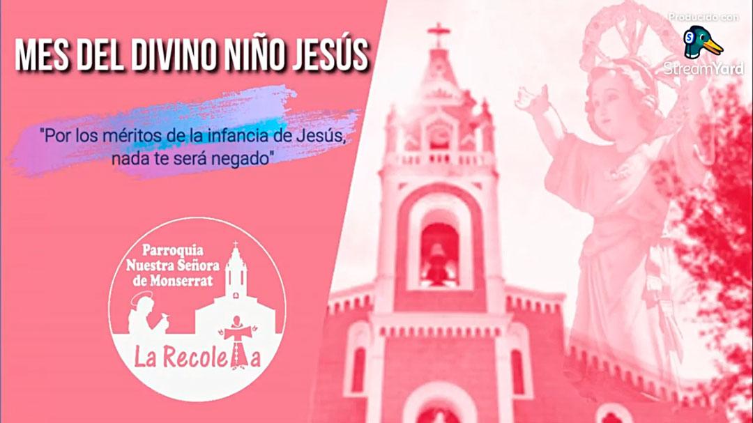 Arequipa: Coronilla al Divino Niño Jesús