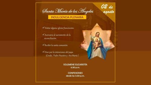 Solemnidad de Santa María de los Ángeles – Jesús María