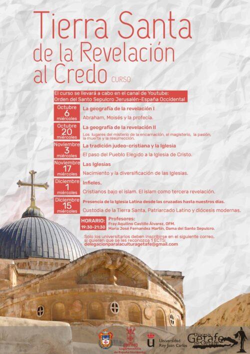 Curso: Tierra Santa, de la Revelación al Credo