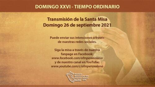 XXVI Domingo del Tiempo Ordinario