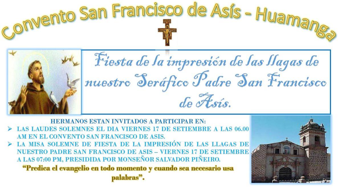 Ayacucho – Fiesta de la Impresión de las Llagas de San Francisco de Asís