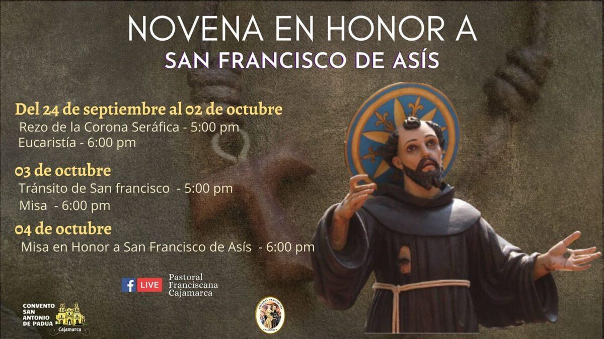 Cajamarca: Novena de San Francisco de Asís