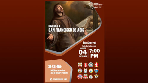 Homenaje a San Francisco de Asís a Nivel Provincial