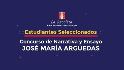 Arequipa: Concurso de Narrativa y Ensayo «José María Arguedas»