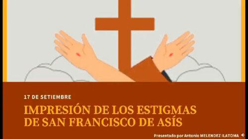 Impresión de los Estigmas en San Francisco de Asís