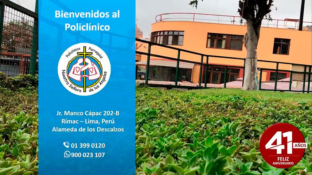 41 Aniversario del Policlínico Nuestra Señora de los Ángeles