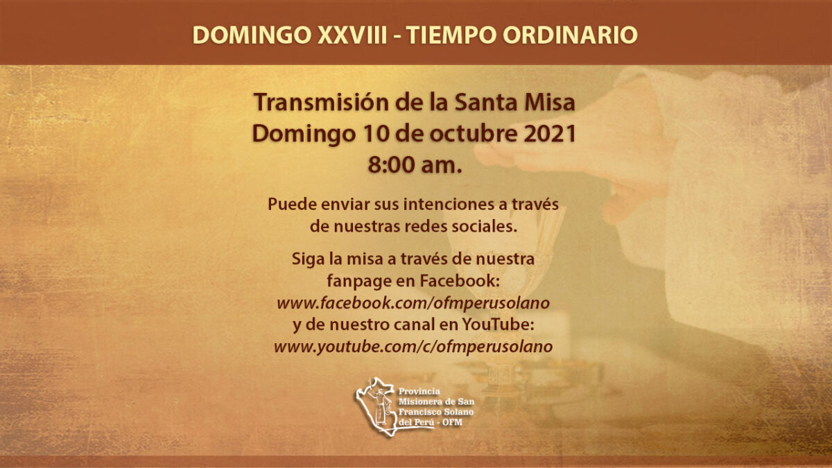 Santa Misa Domingo XXVIII del Tiempo Ordinario