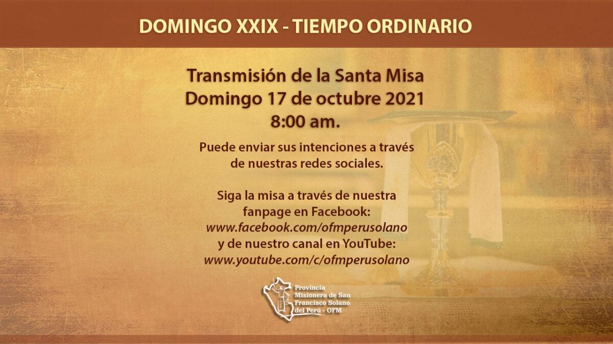 XXIX Domingo del Tiempo Ordinario