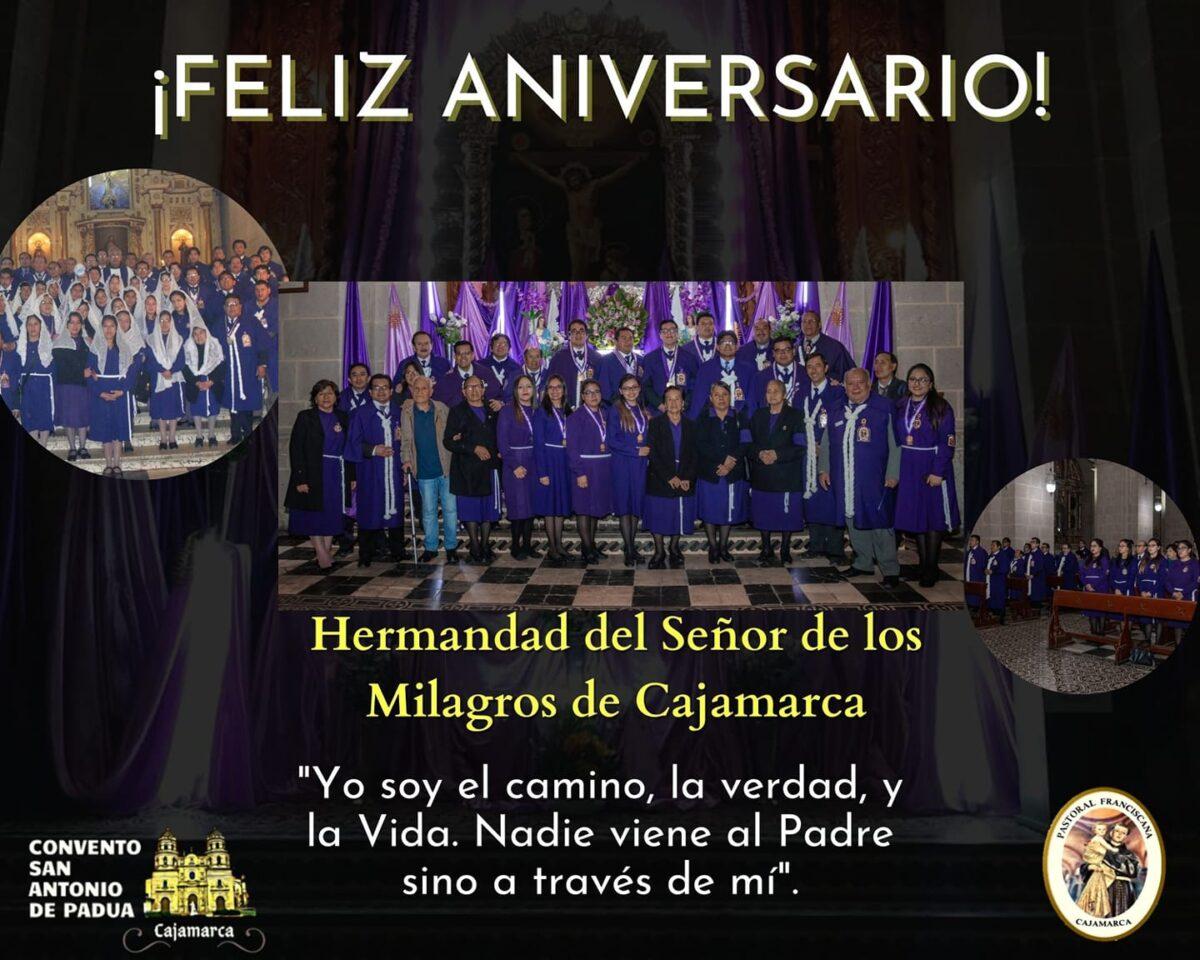 Aniversario: Hermandad del Señor de los Milagros – Cajamarca